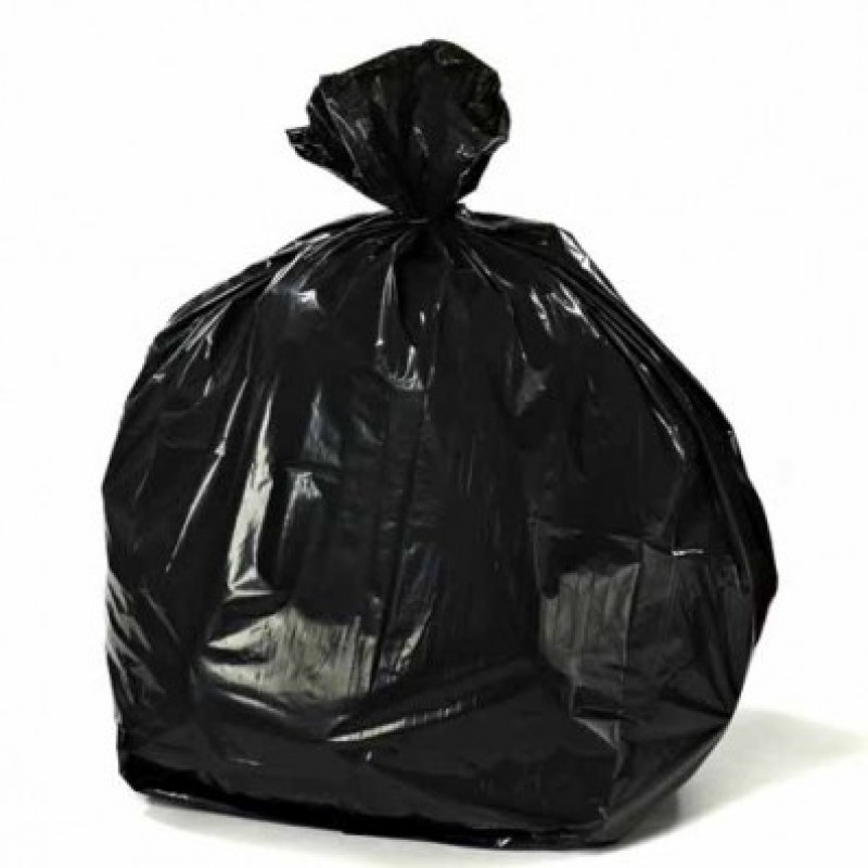 Garbage bag -black