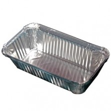 100 Pieces Aluminium Wrapping Box- 660ml